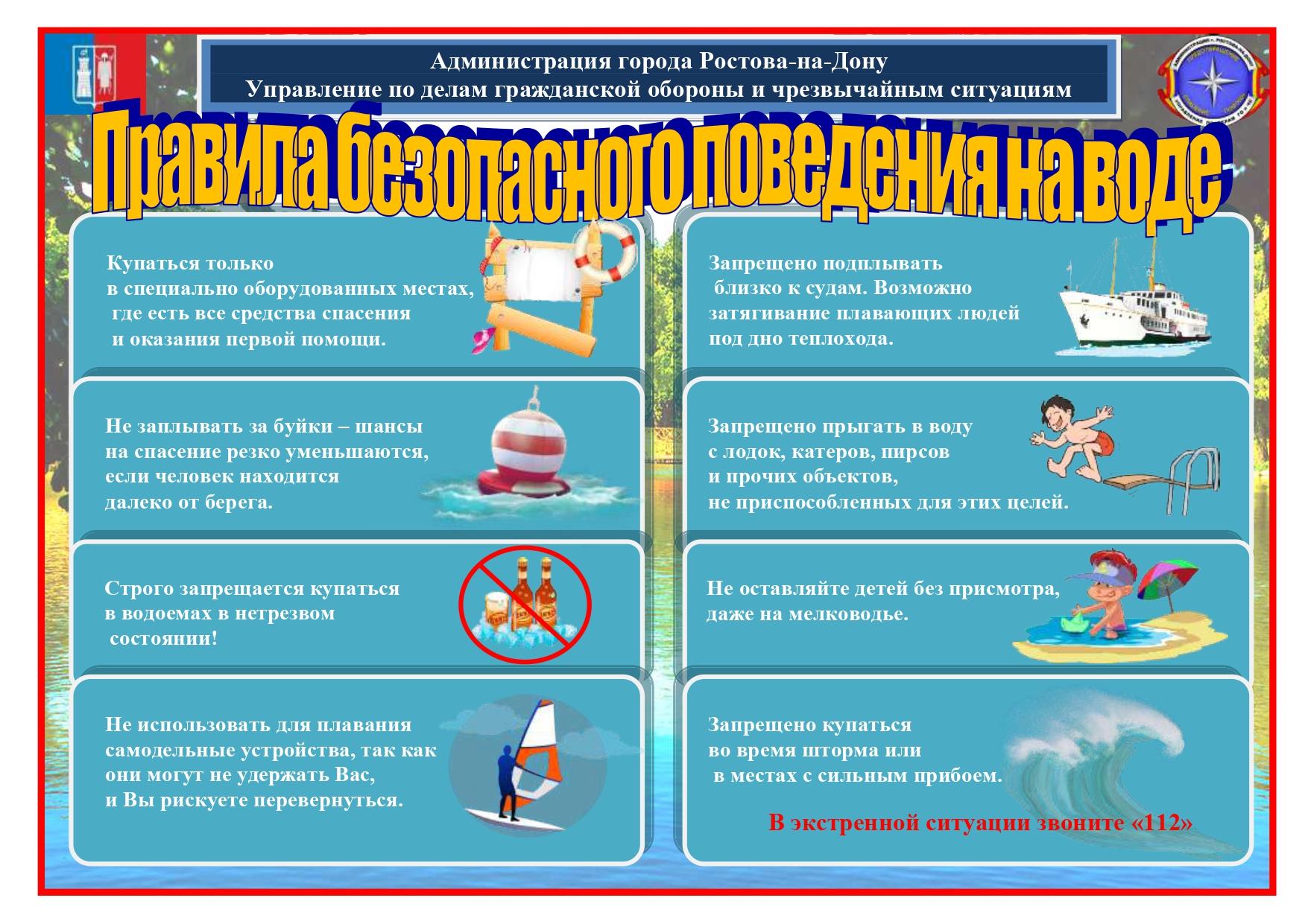 Правила безопасного поведения на воде. Как спасти тонущего.